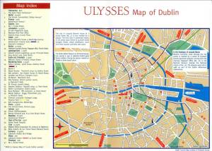 Ulysses Map of Dublin
